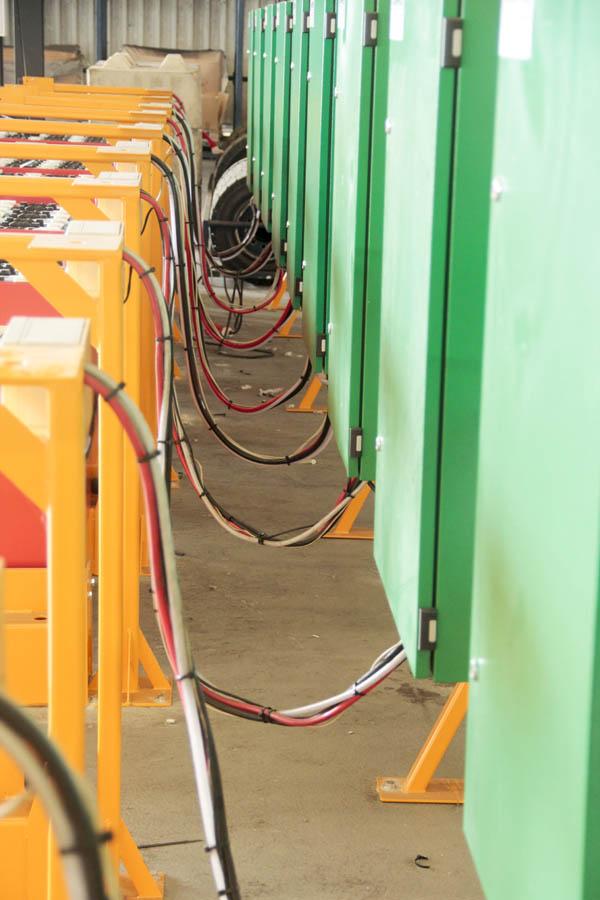 Duurzame elektrische heftrucks