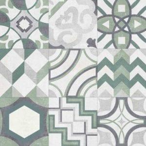 portugese tegels groen